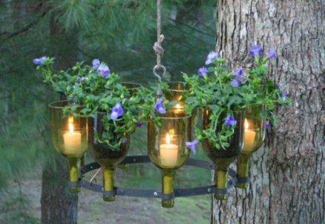 Transforma-ti gradina intr-un spatiu magic cu ajutorul candelabrelor!