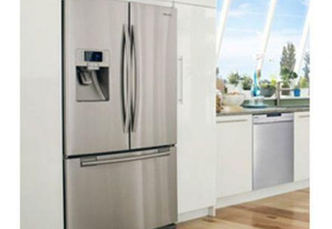 Cum sa repari rapid gropile de pe suprafata frigiderelor din otel inoxidabil
