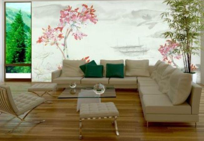 Decoreaza peretii camerei cu tapet inspirat din cultura chineza!