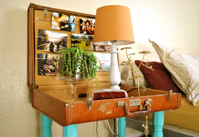 Cum sa tranformi o valiza veche intr-un obiect de mobilier spectaculos. Iata 5 idei surprinzatoare!