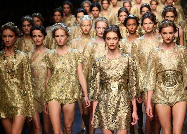 Colectia Dolce&Gabbana primavara-vara 2014, sub semnul protestului