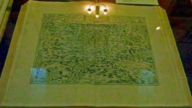 Cea mai veche harta a Transilvaniei