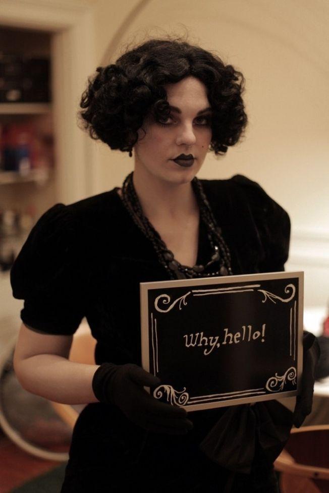 Cum sa te costumezi rapid de Halloween