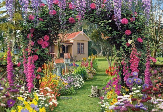 Cele mai potrivite plante pentru o gradina in stil cottage
