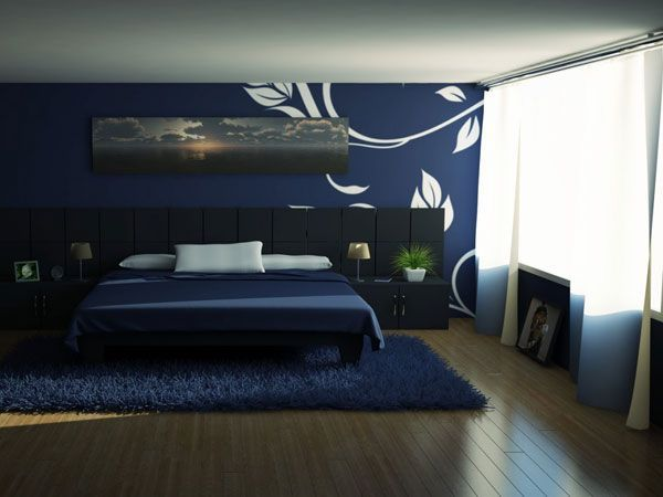 5 dormitoare bleumarin foarte trendy in 2014
