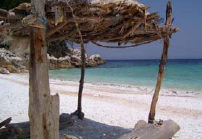 Insula Thassos plaja