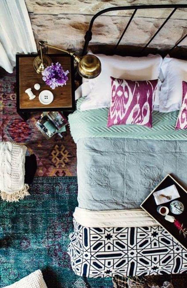 Stilul Boho Chic, un decor indraznet pentru dormitor
