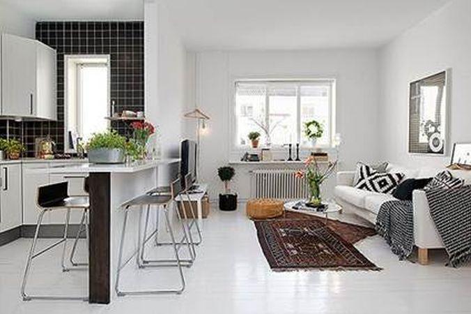 Idei spectaculoase de decor pentru apartamentele mici open-space