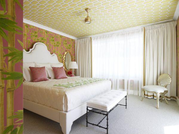 Tapetul pentru tavan, o modalitate inedita de revitalizare a decorului