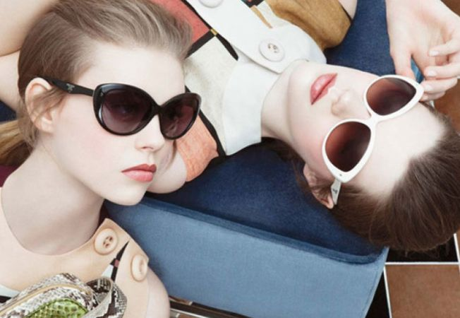 Excentric sau diafan? Ochelari de soare la moda in sezonul de primavara-vara 2014