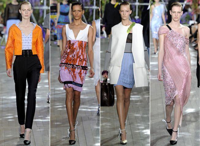 Pliseurile, elementul-surpriza al colectiei Dior de primavara
