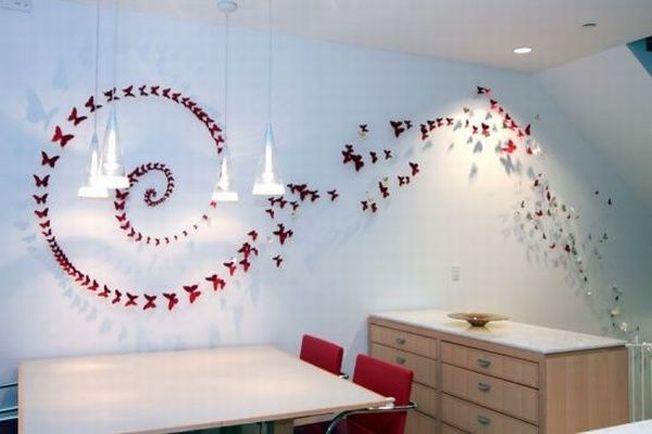 Infrumuseteaza-ti casa cu fluturasi decorativi din cutii de bere!