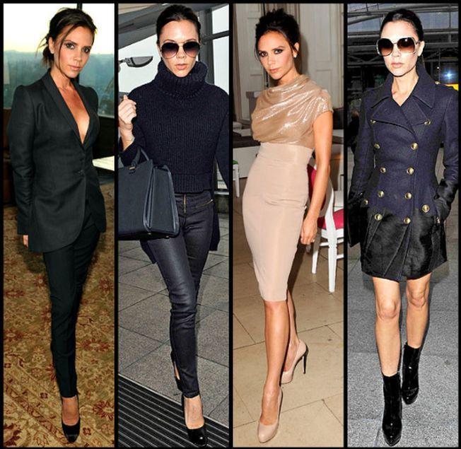 Adopta stilul feminin al Victoriei Beckham