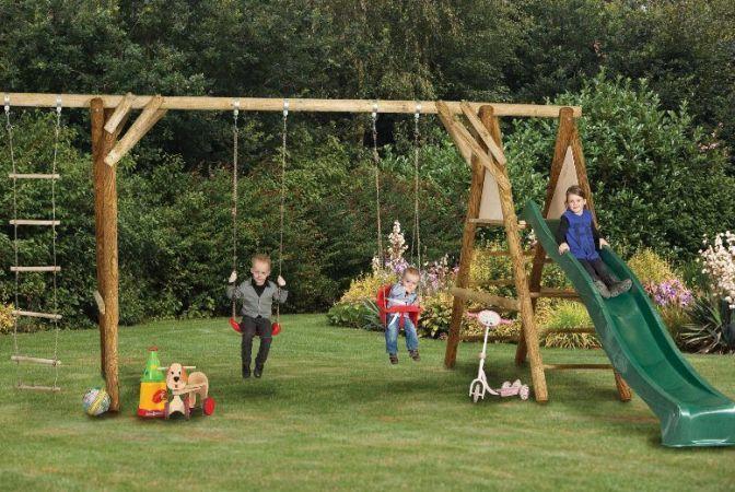 Transforma-ti gradina in locul de joaca ideal al celor mici