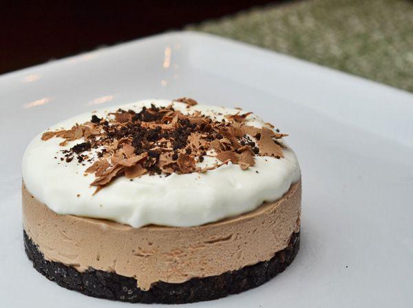desert fabulos cheesecake cu nutella fara coacere. Black Bedroom Furniture Sets. Home Design Ideas