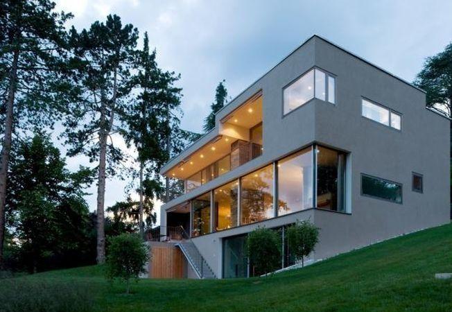 Case de lux: cum arata o vila moderna in Preveranges, Elvetia