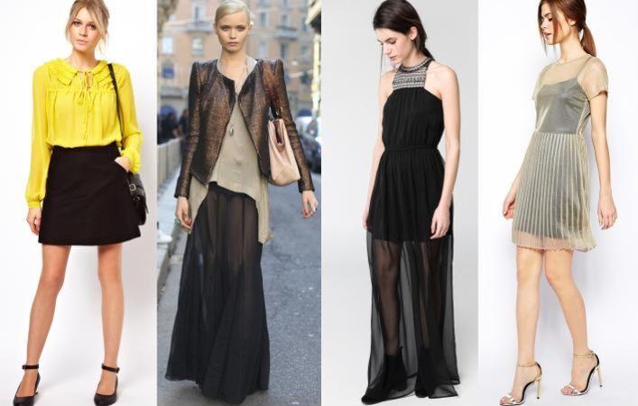 Cum sa porti sexy si elegant hainele transparente