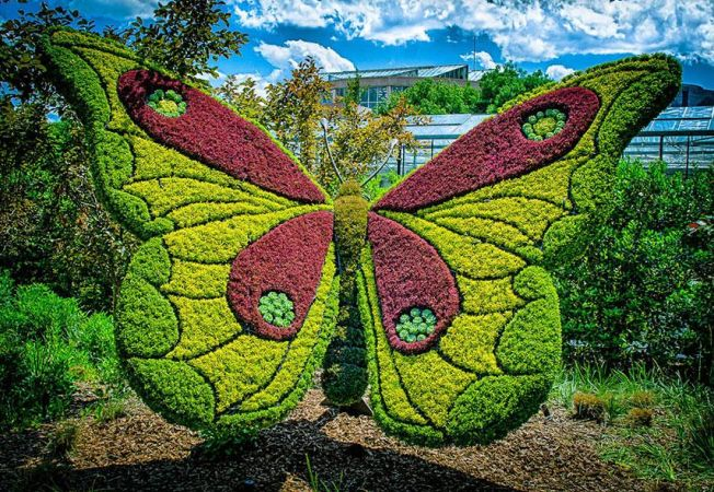 Cele mai frumoase gradini: Gradina Botanica din Atlanta, taramul statuilor vii!
