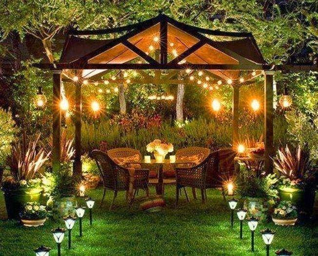 5 idei de a ilumina gradina in mod fermecator in timpul noptilor de vara