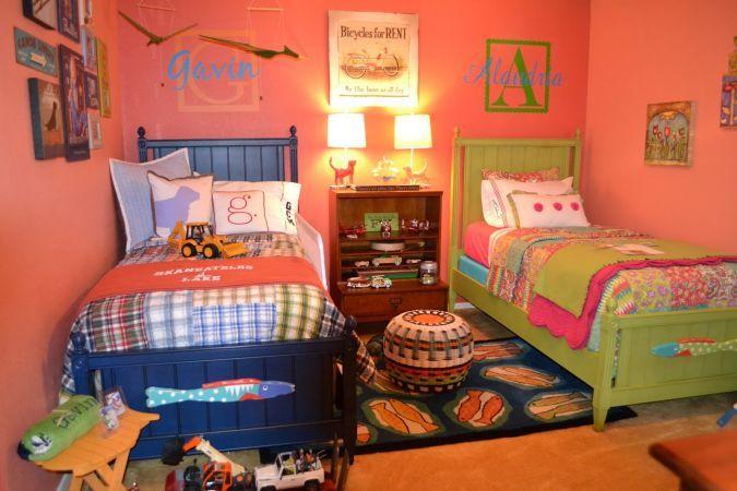 O camera, doi copii. Cum imparti frateste spatiul