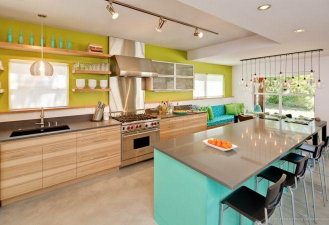 6 combinatii de culori potrivite pentru bucatarie