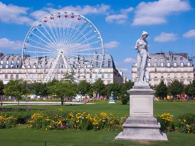Cele mai frumoase gradini: Jardin des Tuileries, bijuteria romanticului Paris