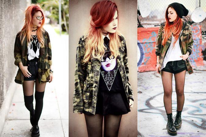 Stilul army sau cum sa porti cu stil hainele cu imprimeu camuflaj