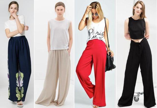 Hai la shopping! 6 modele de pantaloni largi in tendinte sezonul acesta