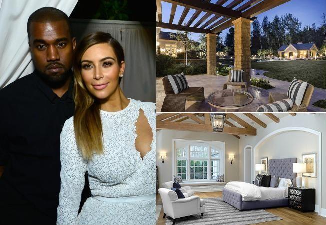 Case de vedete: 22 de milioane de dolari, vila aleasa de Kim Kardashian si Kayne West