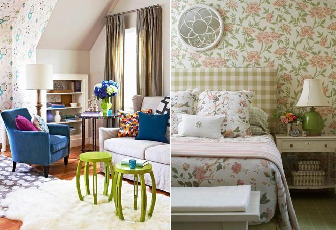 Invata sa combini corect modele si culori in decorul casei