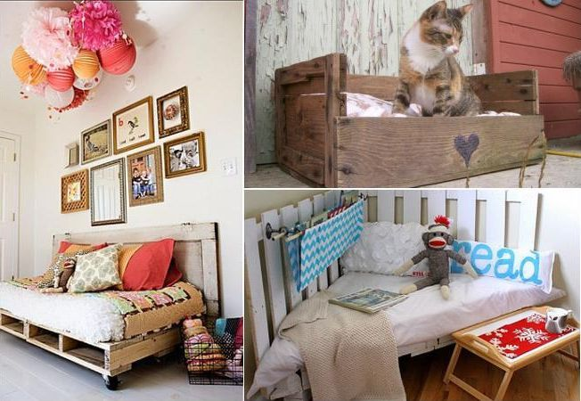 Transforma paletii in piese unice de mobilier. Iata 10 idei geniale!