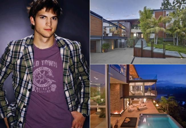 Case de vedete: Lux de 10 milioane de dolari pentru Ashton Kutcher