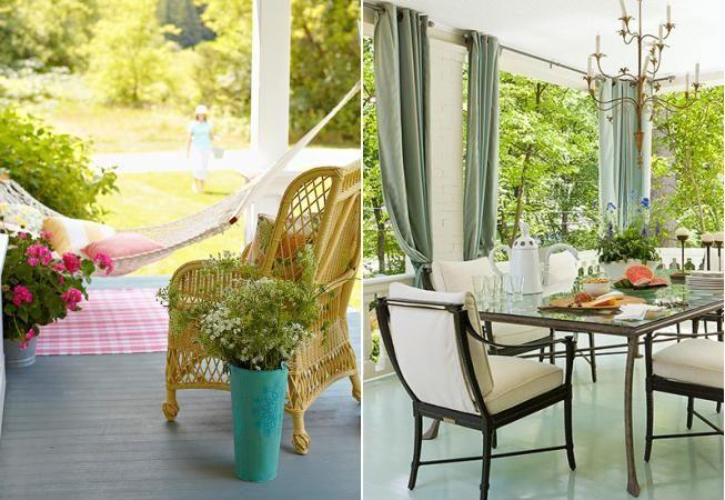 6 idei geniale pentru un living confortabil in aer liber