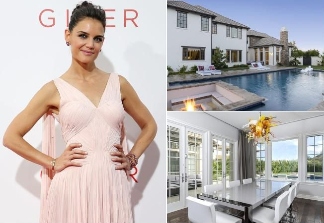 Case de vedete: Locuinta in stil glam de 3,8 milioane dolari pentru Katie Holmes