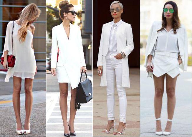 Reguli de fashion atunci cand te imbraci in alb