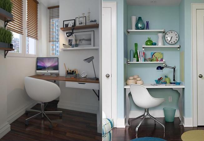 Lucrezi de acasa? Iata cele mai ingenioase amenajari pentru birou