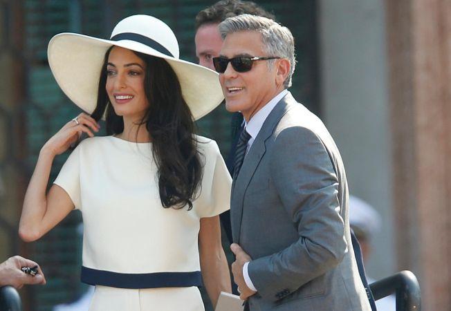 Cum a aratat meniul de la nunta lui George Clooney: fusion intre hamburgeri americani si delicatese