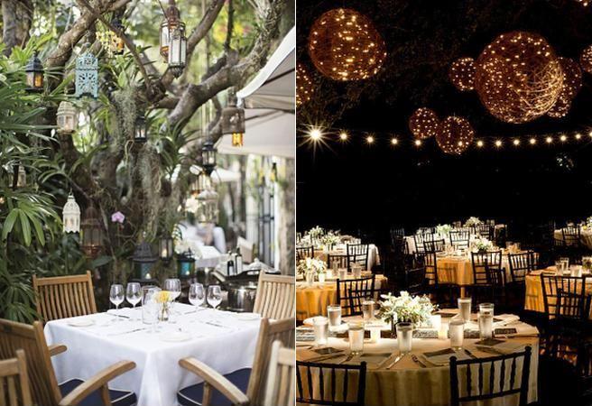 6 moduri unice de a ilumina romantic gradina