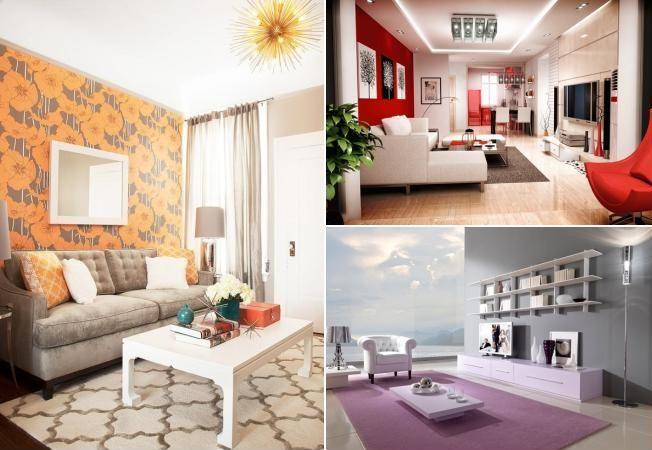 7 combinatii fantastice de culori pentru living