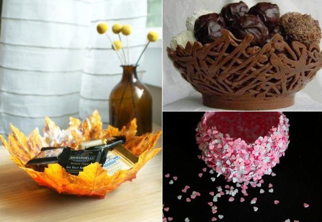 5 idei pentru boluri decorative unice