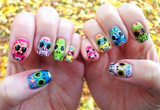 "6 manichiuri perfecte pentru Halloween. Cum sa ai unghii ""de speriat""!"