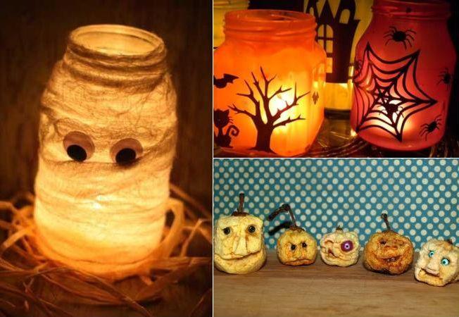 4 decoratiuni infricosatoare pentru un Halloween ca la carte