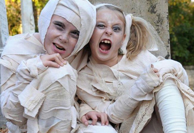 Costume de Halloween pentru copii: ce poti improviza pe ultima suta de metri?