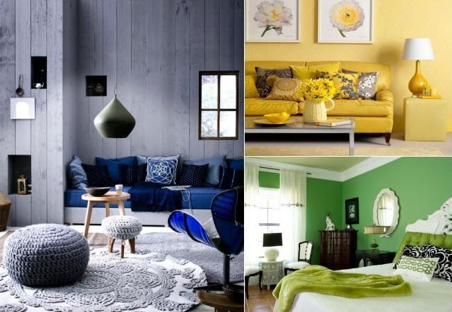 9 interioare uimitoare intr-o singura culoare. Vezi cum te influenteaza fiecare nuanta
