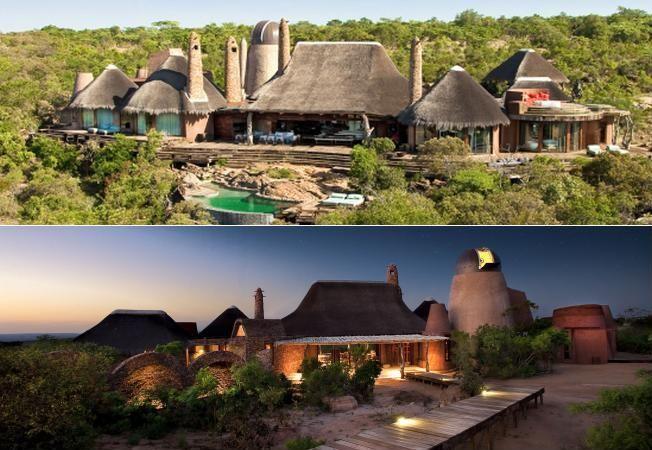 Casa cu turnulete din inima savanei