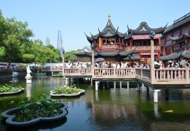 Cele mai frumoase gradini: Gradina Yuyuan din China, simbolul satisfactiei si al implinirii