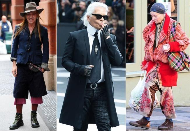 Designerii celebri poarta haine trasnite. Te-ai imbraca asa?