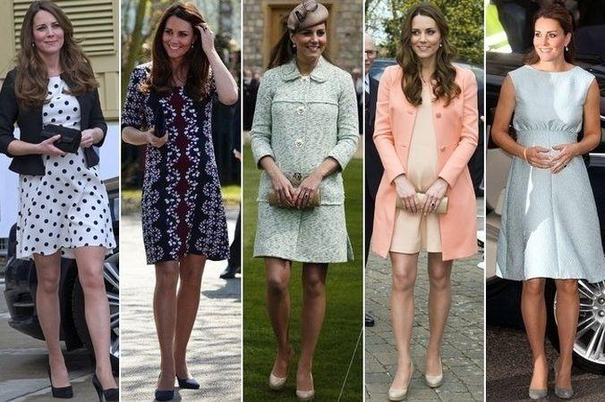 Kate Middleton si cele mai frumoase tinute de gravida pe care le-a purtat