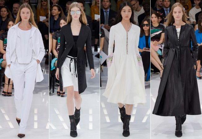O primavara in alb si negru, viziunea Dior pentru 2015