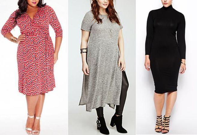 7 rochii pentru femei plinute. Cum sa te imbraci cand n-ai forme ideale